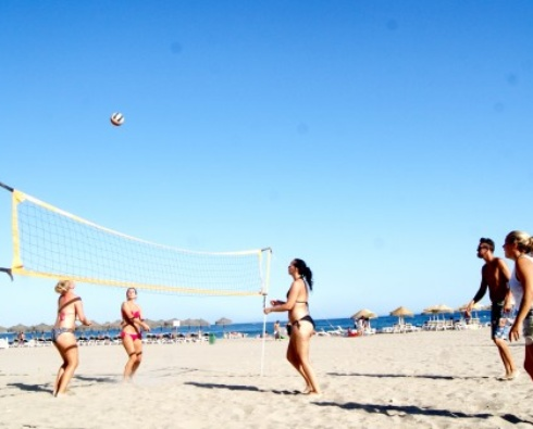 Beach Volley, Strandlekar & Poolpartyn